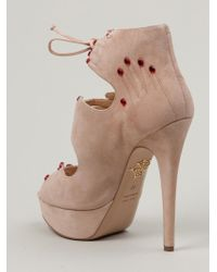 Charlotte Olympia Hands On Sandals - Lyst