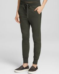 Vince Sweatpants Bloomingdales Exclusive Leather Stripe Jogger - Lyst