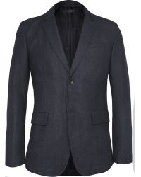 Rag & Bone Phillips Slim-fit Checked Wool-blend Blazer - Lyst