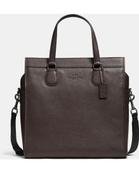 Coach Smith Tote In Pebble Leather - Lyst
