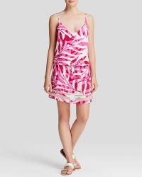 Townsen Dress - Palm Fuchsia - Lyst