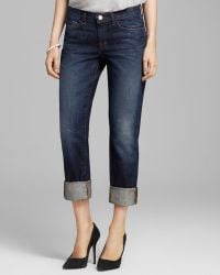 J Brand Jeans Logan Cuff Crop in Hung Up - Lyst