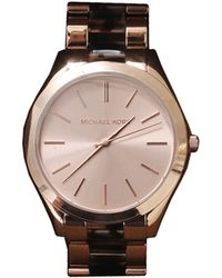 Michael Kors Channing Watch brown - Lyst