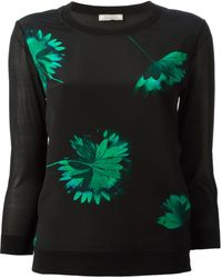Nina Ricci Floral Print Top - Lyst