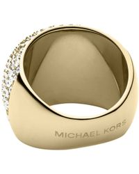 Michael Kors - Pave Dome Ring - Lyst
