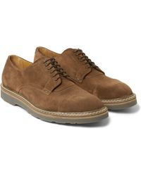 Paul Smith Thom Suede Derby Shoes - Lyst