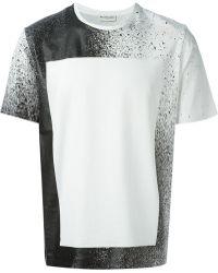 Balenciaga Printed Cotton-Jersey T-Shirt - Lyst