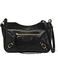 Balenciaga | Classic Hip Textured-leather Shoulder Bag | Lyst