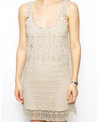 Jack Wills - Crochet Beach Dress - Lyst