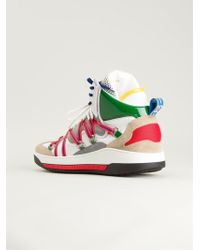 DSquared2 Hitop Sneakers - Lyst
