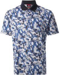 Victorinox - Abstract-print Polo Shirt - Lyst