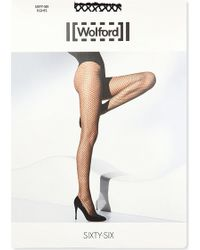 Wolford Black Sixty-Six Tights - Lyst