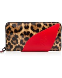 Christian Louboutin Red Suolita Wallet - Lyst