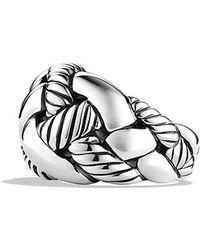 David Yurman Woven Cable Ring - Lyst