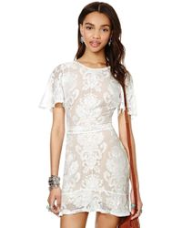 Nasty Gal For Love and Lemons San Marcos Mini Dress - Lyst