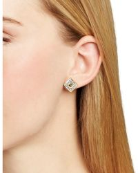 Melinda Maria - Blake Stud Earrings - Lyst