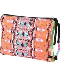 Volcom | 'jamon Jamon' Pouch - Coral | Lyst
