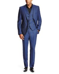 Hugo Adanz/Weyll/Hamen | Slim Fit, Stretch Italian Virgin Wool 3-Piece Suit - Lyst