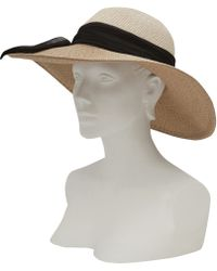 Eugenia Kim Cream Honey Hat - Lyst