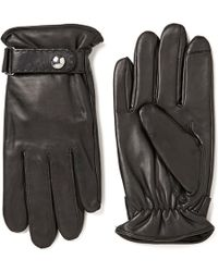 Polo Ralph Lauren - Men's Classic Nappa Leather Tech Gloves - Lyst