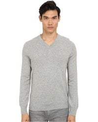 Vince L/S V-Neck Sweater - Lyst