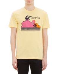 Barneys New York Santa Cruzprint Tshirt - Lyst