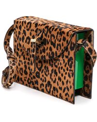 Meli' Melo' Thela Prep Spex Haircalf Bag  Faded Cheetah - Lyst