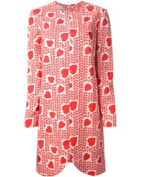 Stella McCartney Printed Dress - Lyst