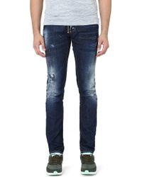 DSquared2 Workshop Slim-fit Straight Jeans - Lyst