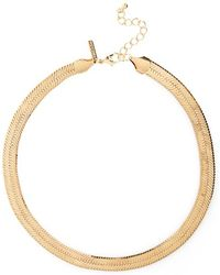 Topshop | Textured Chain Necklace | Lyst
