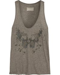 Zadig & Voltaire Printed Cotton Top - Lyst