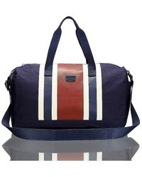 Tommy Hilfiger Stripe Duffle Bag - Lyst