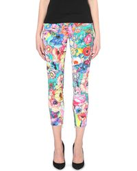 Just Cavalli Stretch Denim Skinny Jeans - Lyst