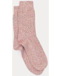 Democratique Socks - Line Knit Supermelange - Lyst