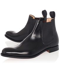 Church's Black Beijing Leather Chelsea Boots - Lyst