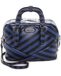 Marc By Marc Jacobs Turn Around Printed Satchel - Skipper Blue Multi - Lyst