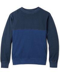 RVCA Backup Crew Sweatshirt - Lyst