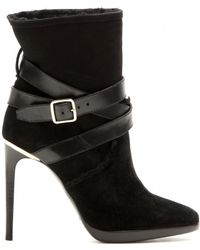 Burberry Brit - Suede Ankle Boots - Lyst