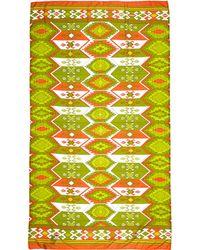 Raj - Tribal-print Knit Scarf - Lyst