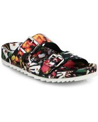 Ash Jungle Kaleidoscopic Printed Leather Sneakers - Lyst