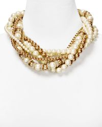 Kate Spade Parlour Twisted Statement Necklace 18 - Lyst