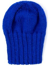 The North Circular - Blue Beanie - Lyst
