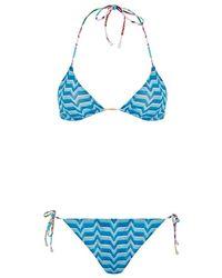Missoni Mare Reversible Triangle Bikini - Lyst