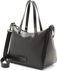 Marc By Marc Jacobs Ligero Ninja Satchel - Black - Lyst