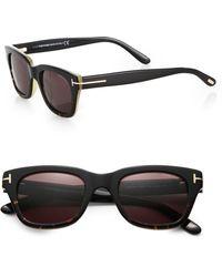 Tom Ford Snowdon Acetate Sunglasses - Lyst