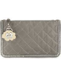 Stella McCartney 'Falabella' Clutch - Lyst