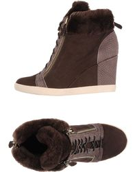 Lola Cruz High-Tops & Trainers brown - Lyst