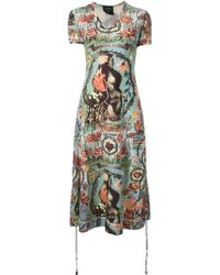 Jean Paul Gaultier Hommage A Frida Kahlo Dress - Lyst