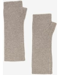 Exclusive For Intermix - Fingerless Cashmere Gloves - Lyst