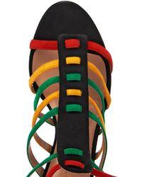 Sophie Theallet - Anita Multi-Strap Suede Sandals - Lyst
